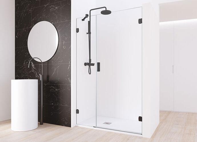 Mampara ducha minimalista a medida Profiltek ng205