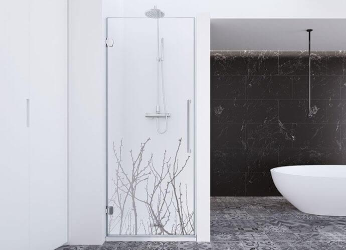 Parois de bain avec imagik Profiltek ng210