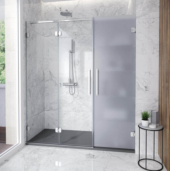 Replace your bathtub with a shower using the Konvert Solution. Profiltek