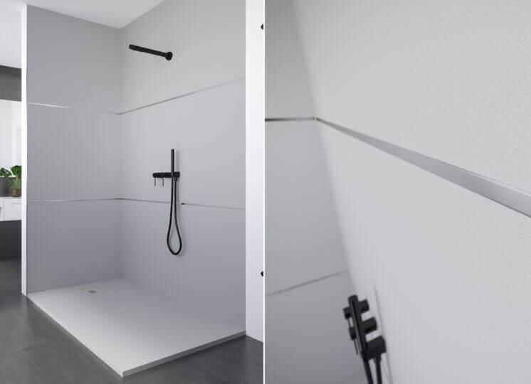 Accesorios platos de ducha - perfil de remate