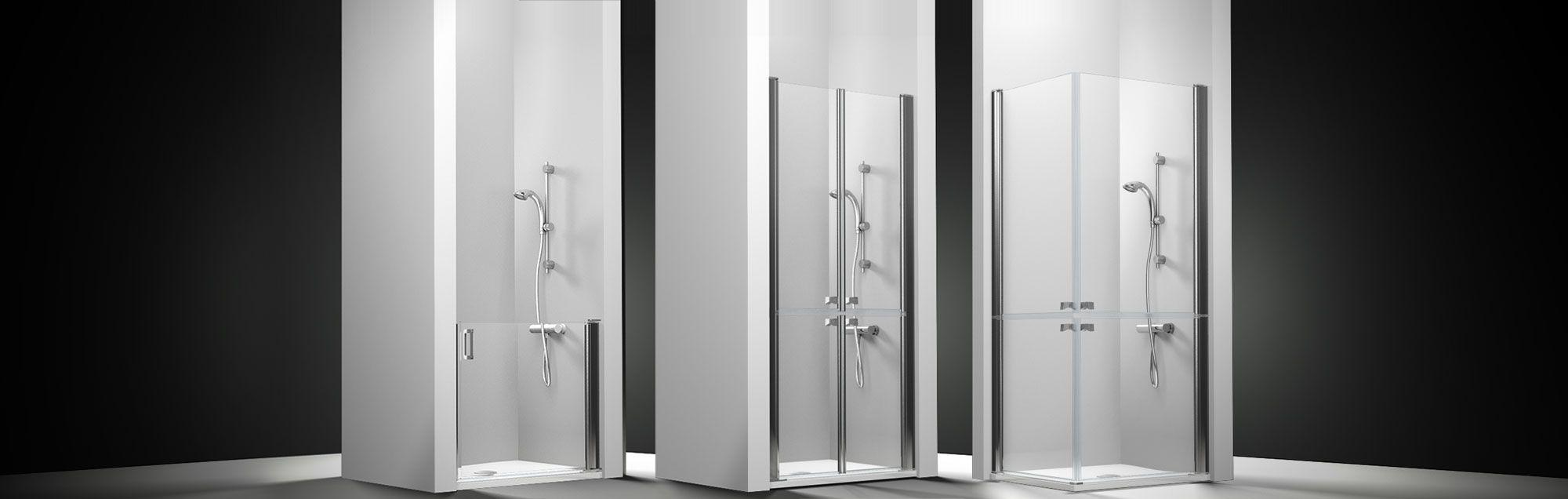 Mamparas pmr asistencial de ducha a medida PROFILTEK