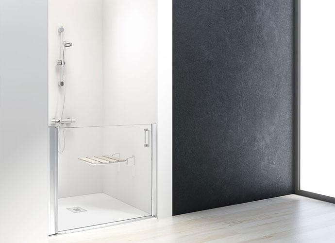 Mampara ducha adaptada a medida PMR210