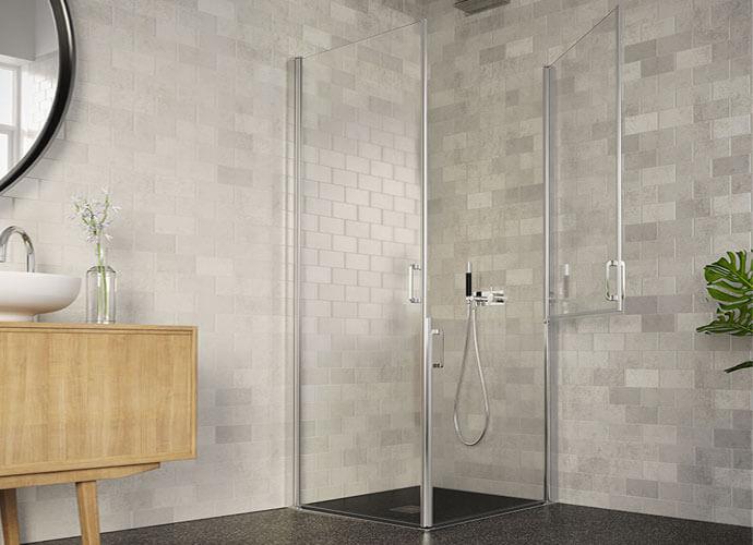Parois de douche adaptée sur mesure PMR230