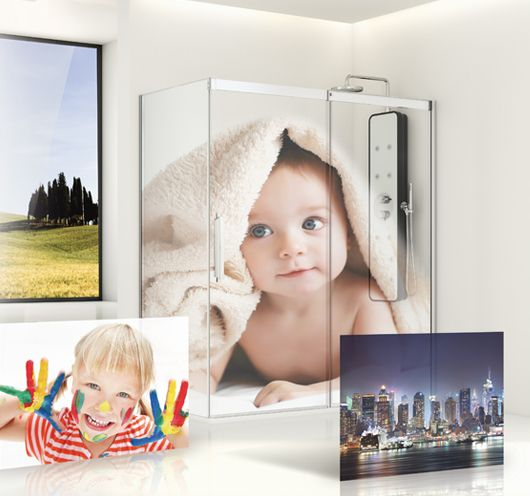 Your own image to print onto glass with IMAGIK