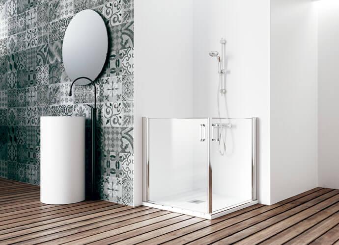 Divisória de banho Profiltek PMR210