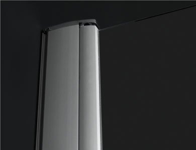 Detalle perfil a pared Modelo ARCOIRIS PLUS Profiltek