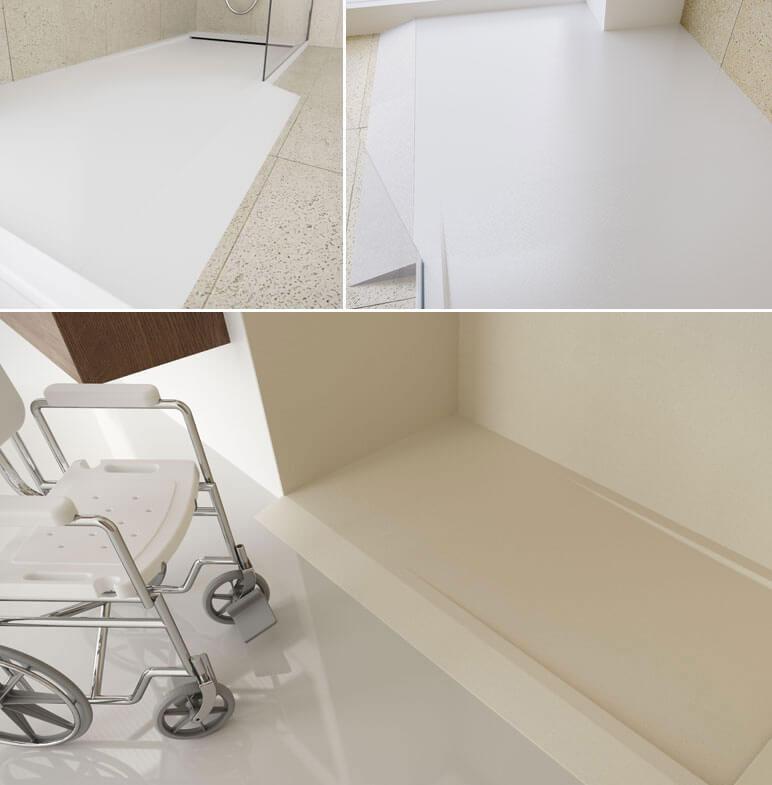 Accesorios platos de ducha - rampa de acceso