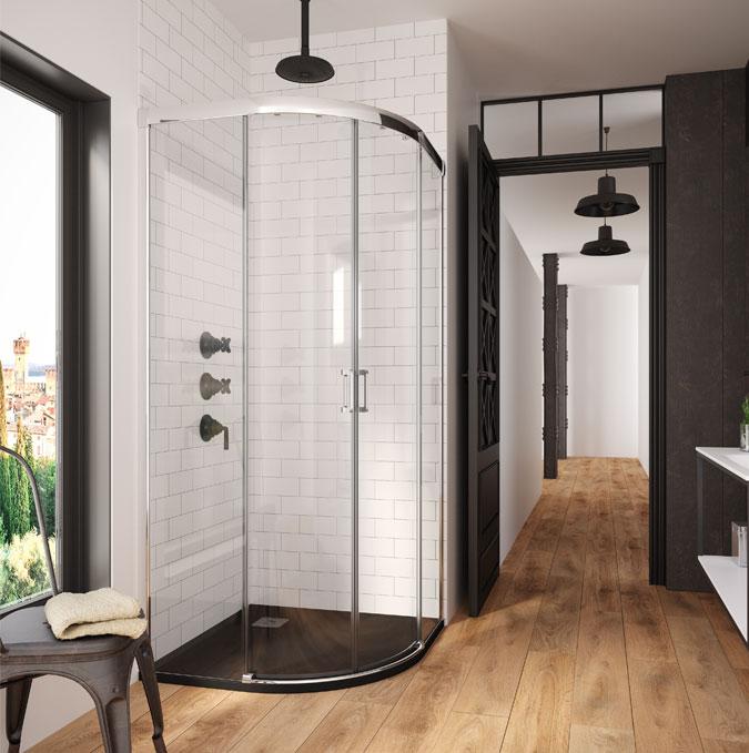 Rodik extra flat shower trays by PROFILTEK
