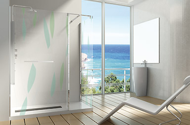 PROFILTEK Alhambra Collection walk-in bathroom enclosures