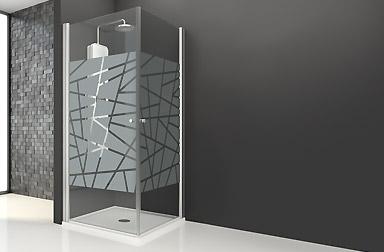 Serie Arcoíris de mamparas abatibles de baño PROFILTEK