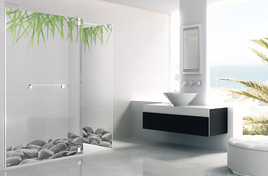 Série Belus parois de bain walk-in PROFILTEK