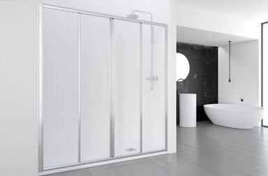 PROFILTEK Ecodux Collection sliding bathroom enclosures
