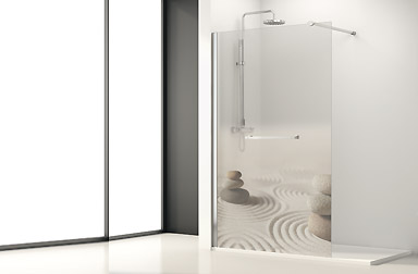 PROFILTEK Fijos One Collection walk-in bathroom enclosures