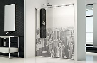 PROFILTEK Serie Fresh - Duschabtrennungen mit Gleittüren