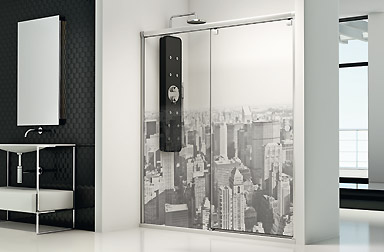 PROFILTEK Fresh Collection sliding bathroom enclosures