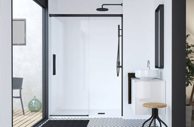 Serie Hit sliding shower screens PROFILTEK
