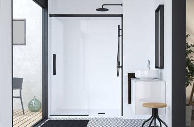 Serie Hit sliding shower screens PROFILTEK