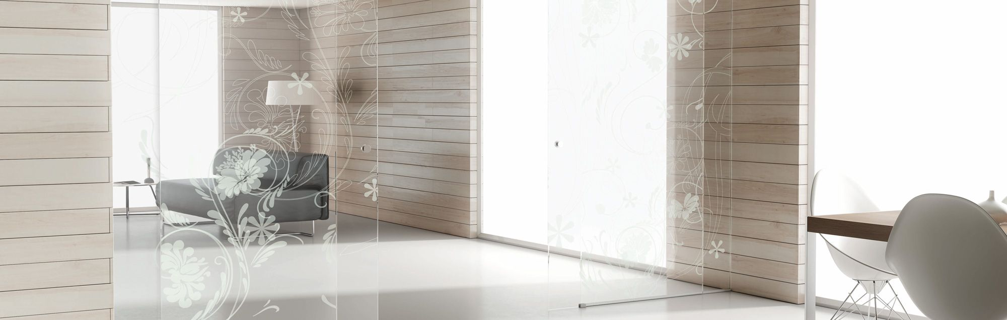 Kosmos puertas correderas de interior de vidrio de profiltek - Puertas correderas vidrio ...