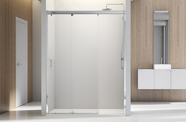 Serie Nell di box doccia scorrevoli PROFILTEK
