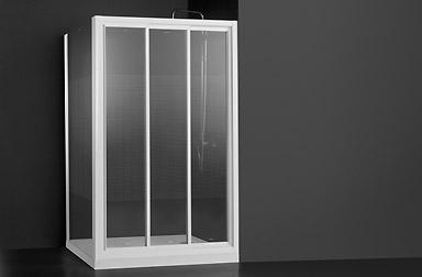 Serie Nova Mas di box doccia scorrevoli PROFILTEK