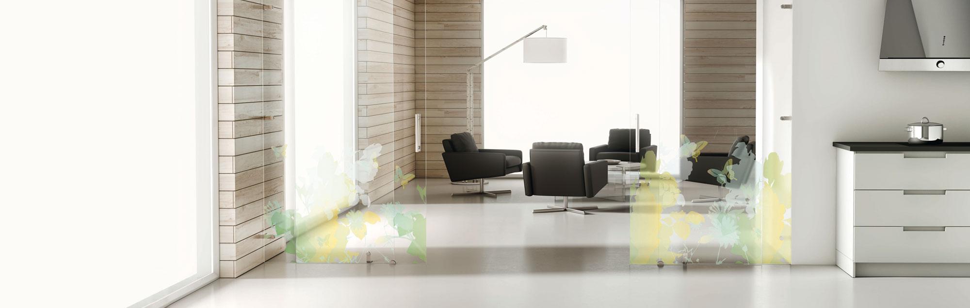 Planit portes d int rieur coulissantes en verre profiltek for Remuneration architecte d interieur