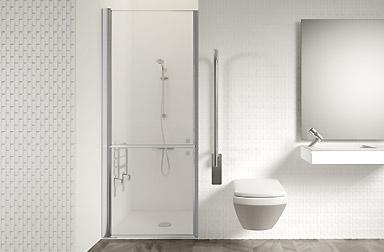 PROFILTEK Duschabtrennungen als spezielle Sonderanfertigung nach Maß für Badewannen