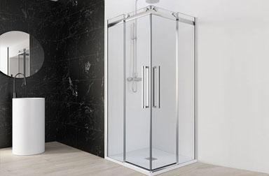 PROFILTEK Moon Collection sliding bathroom enclosuresSelect/Moon