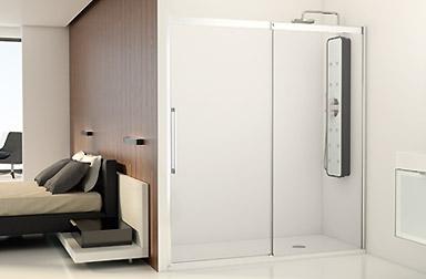 Serie Smart/Vita de mamparas correderas de baño PROFILTEK