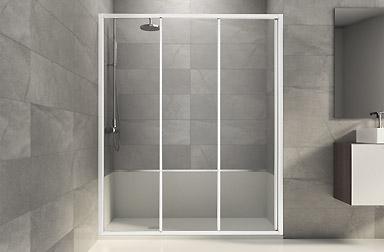 Parois de bain standard sur mesure