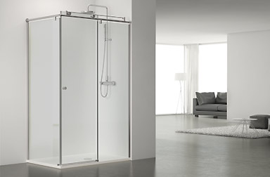 PROFILTEK Serie Steel - Duschabtrennungen mit Gleittüren
