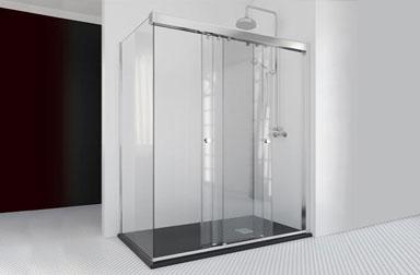 Serie Take mamparas correderas de baño