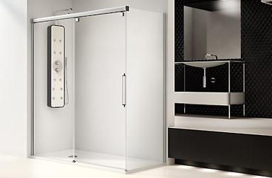 PROFILTEK Serie Vetro - Duschabtrennungen mit Gleittüren