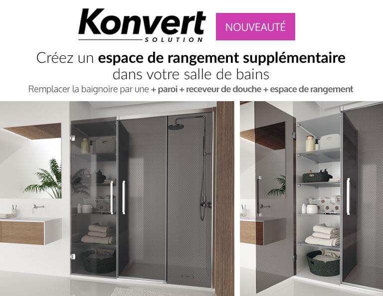 Konvert. Créez un espace de rangement supplémentaire