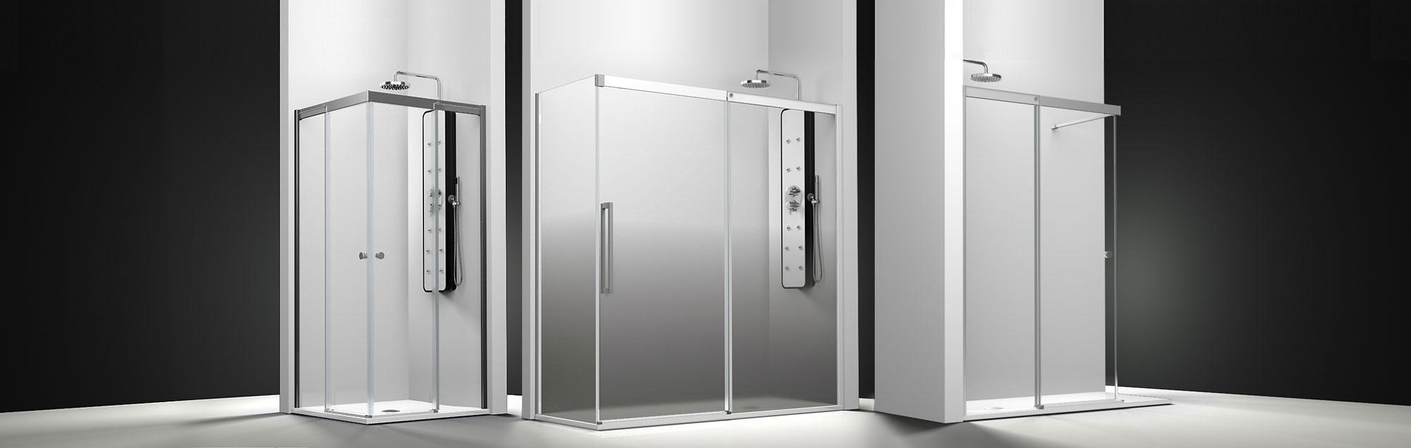 Série Smart Vita parois de baignoire coulissantes sur mesure