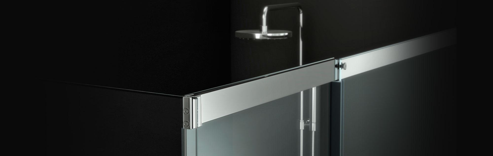 Série Smart Vita parois de baignoire coulissantes
