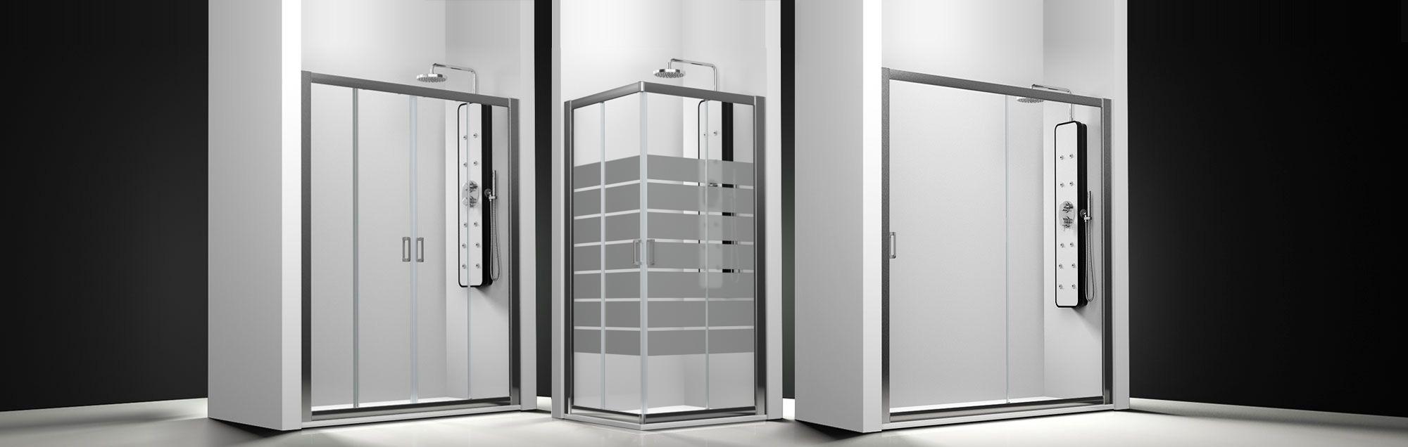 Serie Spring de mamparas standard de ducha a medida