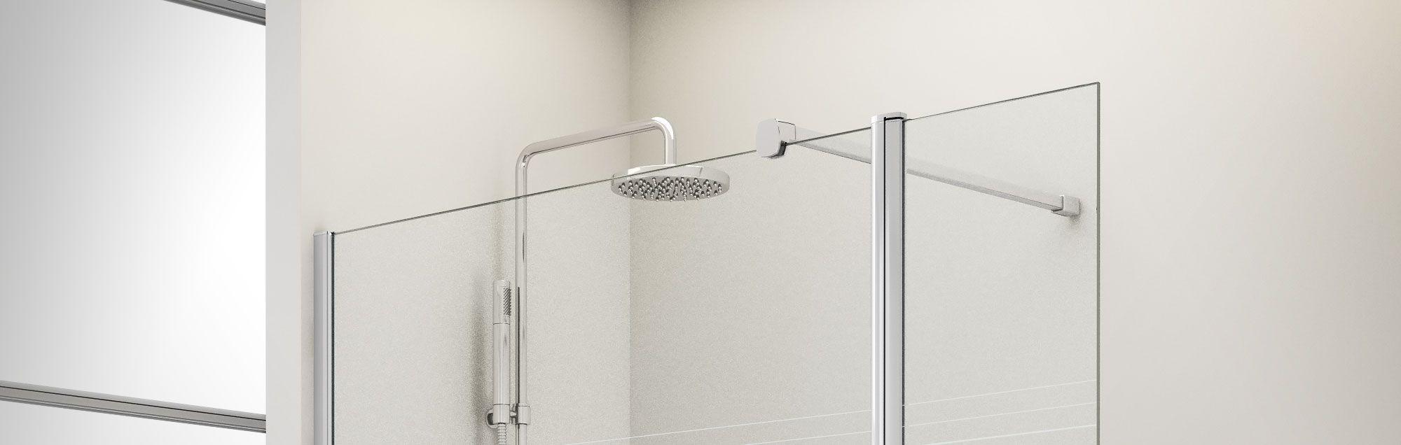 Standard parois pour baignoire et douche profiltek for Mesure standard baignoire