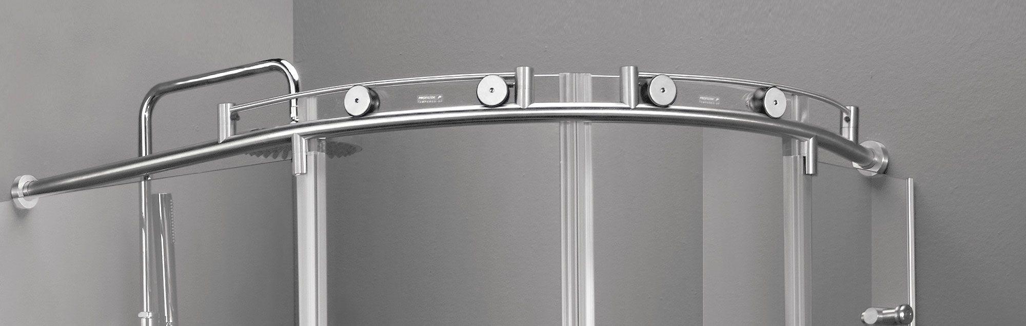 Serie Steel de mamparas correderas de ducha a medida