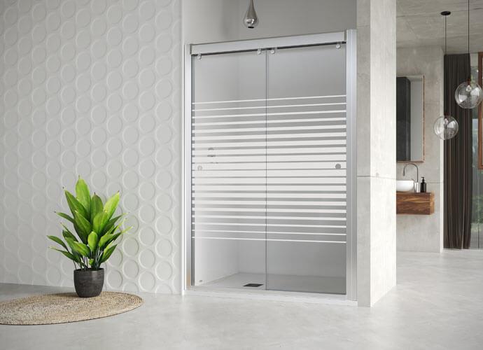 Divisória para duches à medida Profiltek Ta211