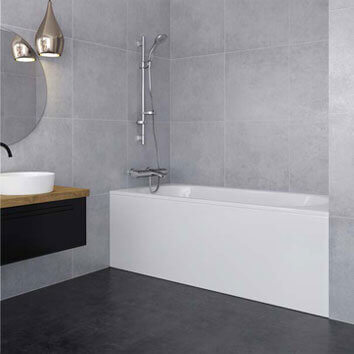 Select the finish and size o your KONVERT* shower tray