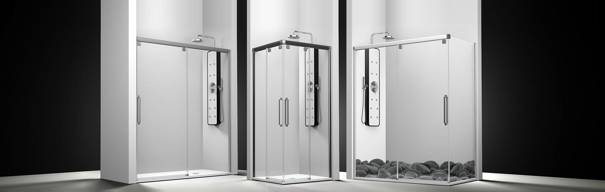 Serie Vetro de mamparas correderas de bañera a medida