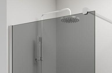Vidrio GRIS HUMO mampara baño PROFILTEK