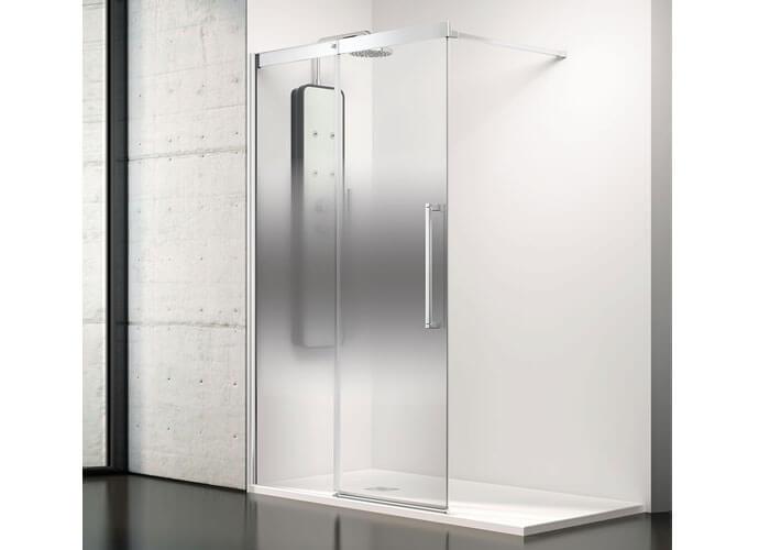 Mampara ducha corredera a medida Profiltek Va250
