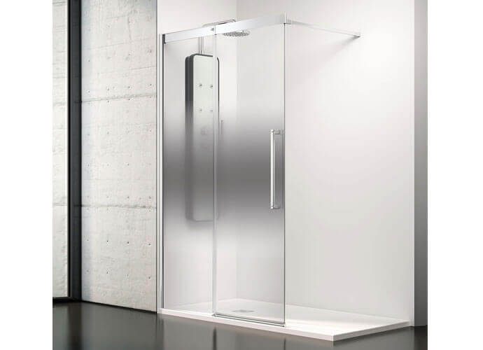 Parois de douche moderne sur mesure Profiltek va250