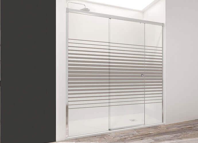 Parois de douche coulissante pour la salle de bain Profiltek wind210