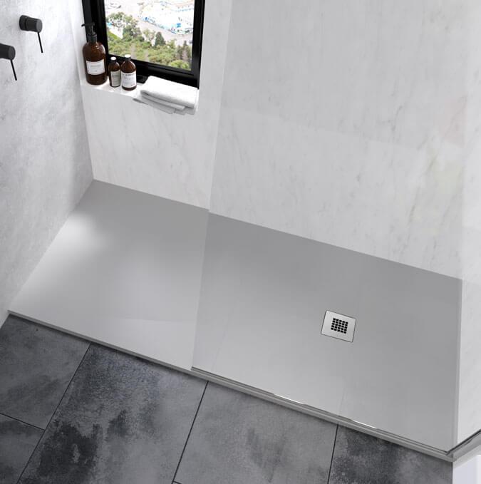 Receveur de douche sur mesure Zenda de Profiltek