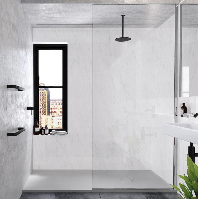 Zenda shower trays by PROFILTEK